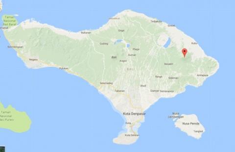 На Балі через виверження вулкану евакуювали близько 24 тисяч осіб