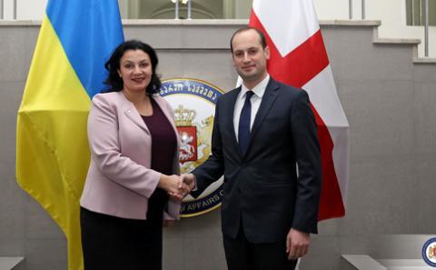 Віце-прем'єри Грузії та України обговорили спільні задачі з європейської і євроатлантичної інтеграції та стратегічних комунікації