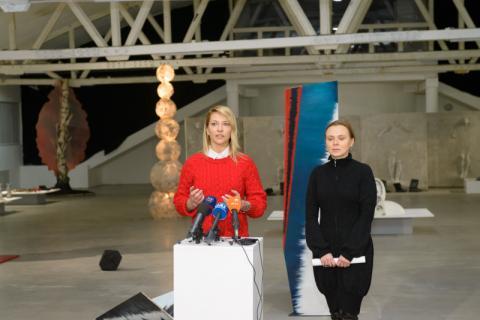 Міст між минулим і майбутнім: відома українська художниця презентувала незвичайну акцію