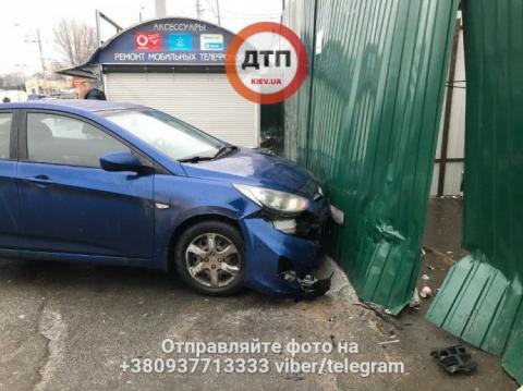 Через негоду на Київщині втричі збільшилась кількість ДТП