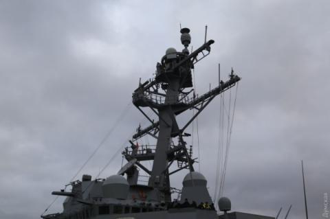 Американський есмінець зайшов в одеський порт