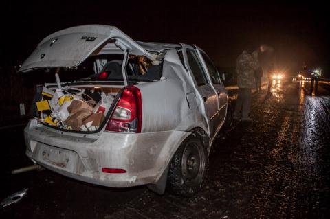 У Дніпрі автомобіль зіткнувся з вантажівкою, є жертви