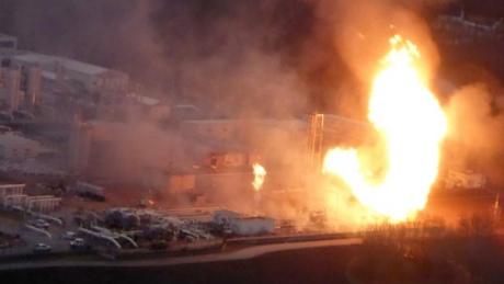Вибух на газопроводі в Австрії: від теплової хвилі плавилися автомобілі