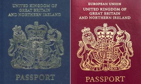 Британія після Brexit змінить колір паспорта