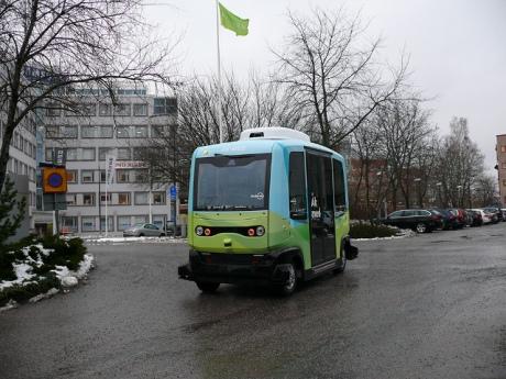 У Стокгольмі з січня почнуть курсувати безпілотні автобуси