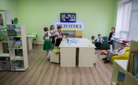 На Чернігівщині Марина Порошенко відкрила перші Медіатеки в інклюзивних школах регіону та реконструйований Центр для дітей з інвалідністю