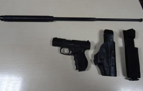 Правоохоронці попередили перевезення вогнепальної зброї через кордон з Польщею