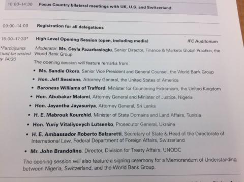 Луценко не поїхав у США на Глобальний Форум з повернення активів