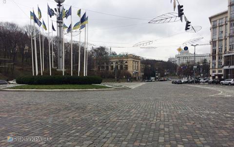 Затримання Саакашвілі: у центрі Києва перекрито рух на трьох вулицях