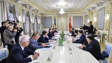 Президент України прийняв Віце-прем'єра Державної Ради Китайської Народної Республіки