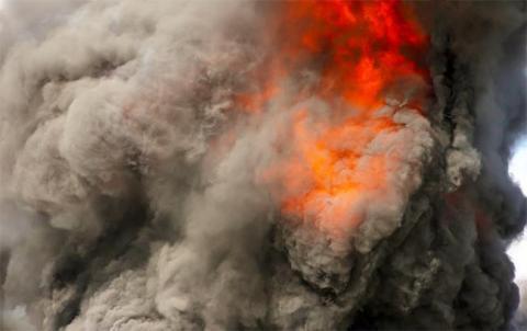 У Запорізькій області внаслідок пожежі загинув чоловік