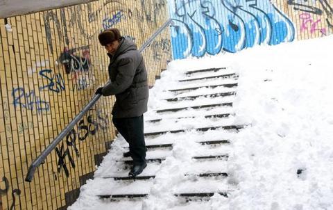 Синоптики попереджають про мокрий снігв Україніі туман у Києві