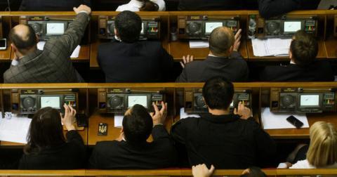 Депутати відкликали законопроект про антикорупційні суди