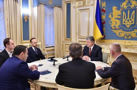 Порошенко каже, що готовий внести законопроект про Антикорупційний суд