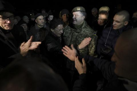 Президент подякував Німеччині та Франції за допомогу у звільненні українських військових з полону