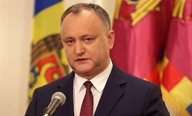 Конституційний суд Молдови призупинив повноваження президента