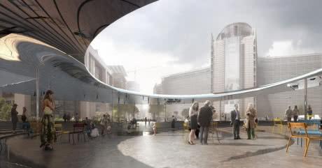 """У центрі Брюсселя створять дзеркальний """"центр європейської демократії"""""""