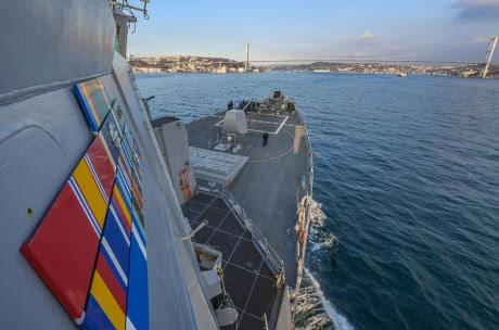 Есмінець ВМС США увійшов у Чорне море