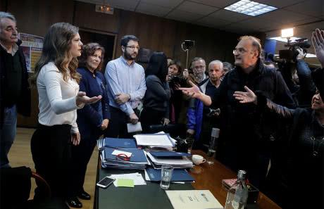 У Греції протестувальники штурмували міністерство