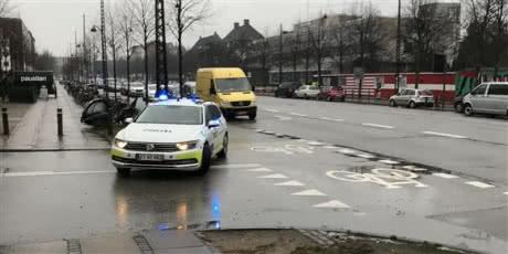 Біля посольства США у Копенгагені шукають вибухівку
