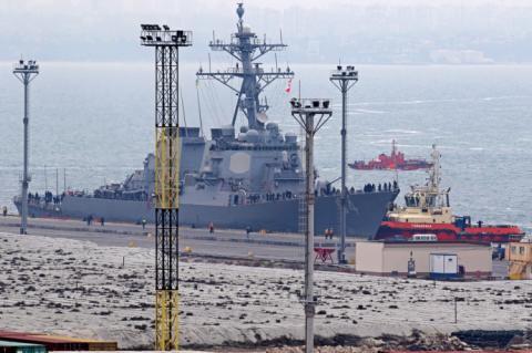 В одеський порт зайшов американський есмінець Carney