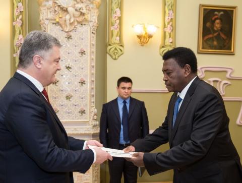 Президент прийняв вірчі грамоти у послів низки іноземних держав