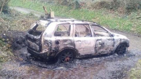 У Британії в авто спалили іноземця, який воював в українській армії