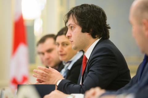 Президент України зустрівся з Головою Парламенту Грузії