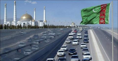 У Туркменістані вступила в силу заборона на темний колір автомобілів