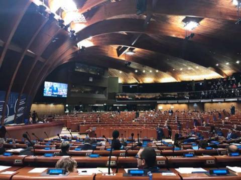 Парламентська Асамблея Ради Європи ухвалила резолюцію про гуманітарні наслідки війни на Донбасі