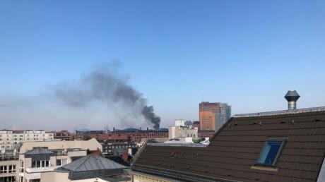 В п'ятизірковому готелі в центрі Берліна спалахнула пожежа