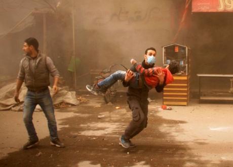 Число загиблих зросло до 220 осіб за чотири дні авіаударів сил Асада в Сирії
