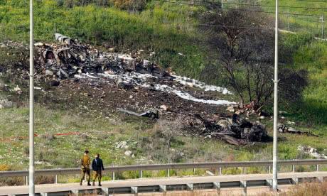 В результаті обстрілу з території Сирії був збитий ізраїльський винищувач