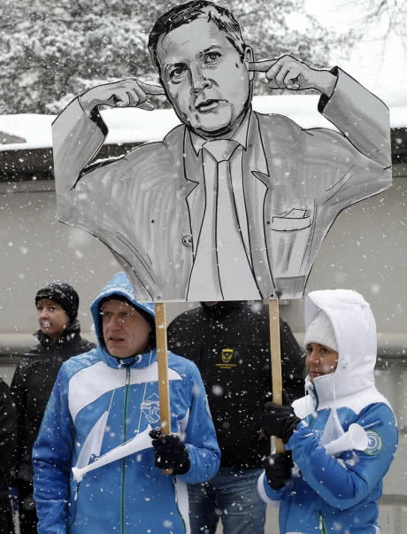Поліція Словенії вийшла на страйк через зарплату