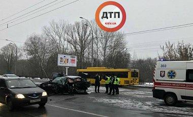 У Києві в ДТП загинув патрульний поліцейський