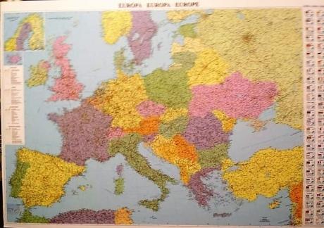 У Будапешті з продажу вилучили карти з неукраїнськими Кримом та Півднем України