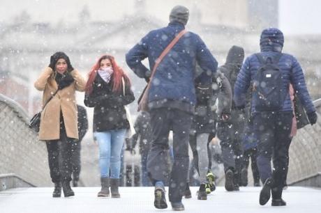 """""""Звір зі сходу"""": до Європи прийшли аномальні морози і снігопади"""