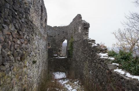 Марина Порошенко ознайомилася з проектом реставрації Невицького замку на Закарпатті