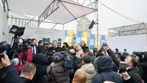 Петро Порошенко: Нова європейська країна – головний пам'ятник Героям Небесної Сотні