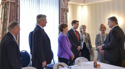 Президент України зустрівся з делегацією Конгресу США