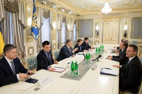Президент України прийняв Міністра закордонних справ Данії