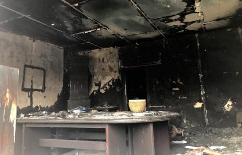 Офіс угорського товариства в Ужгороді не підпалили, а підірвали
