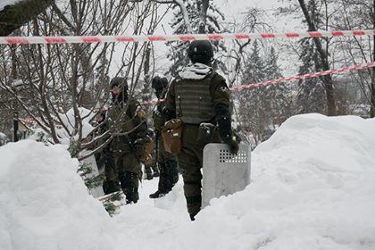 """Усіх мітингарів з-під ВР затримала поліція, у таборі шукають """"зброю"""" - Соболєв"""