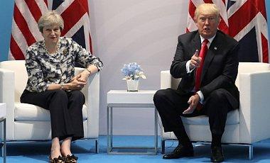 Трамп і Мей відповіли на заяви Путіна про нову зброю