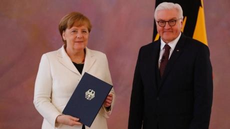 Штайнмаєр призначив Меркель на посаду канцлера Німеччини