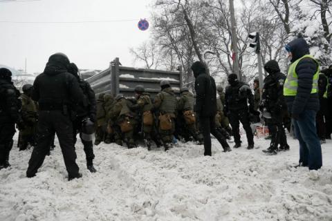 У Кличка заявили, що до штурму наметового табору під ВР непричетні