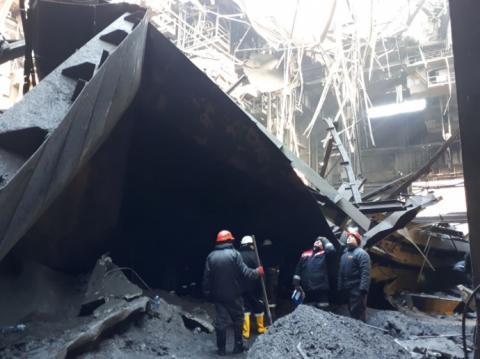 У Кривому Розі через руйнування даху загинув працівник ArcelorMittal