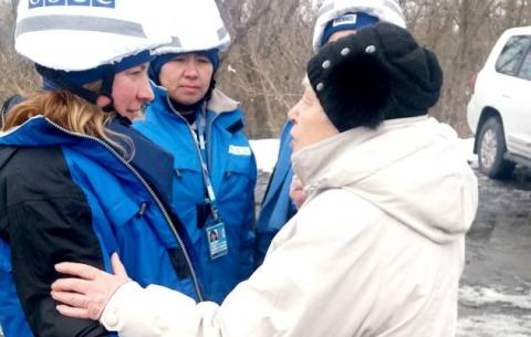 """""""Це жах"""": ОБСЄ обурена станом моста в Станиці - фото"""