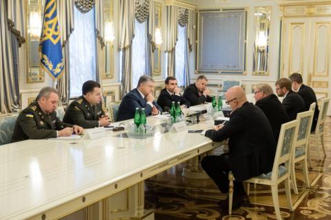 Президент України провів зустріч з Міністром оборони Швеції