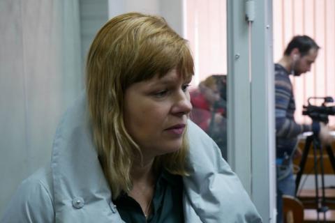 Дружина Рубана розповіла, як їх квартиру обшукували 8 березня